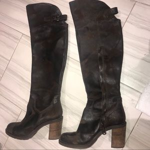 🏹 DONALD J PLINER over the knee boots 🏹